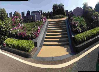 墓区入口景观