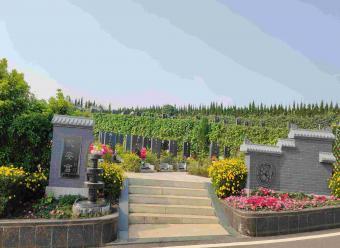 墓区入口景观-永安宫