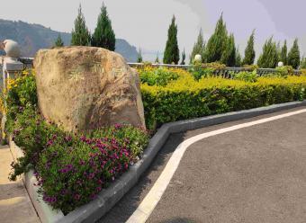 墓区入口景观-永福宫