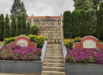 墓区入口景观-功德园